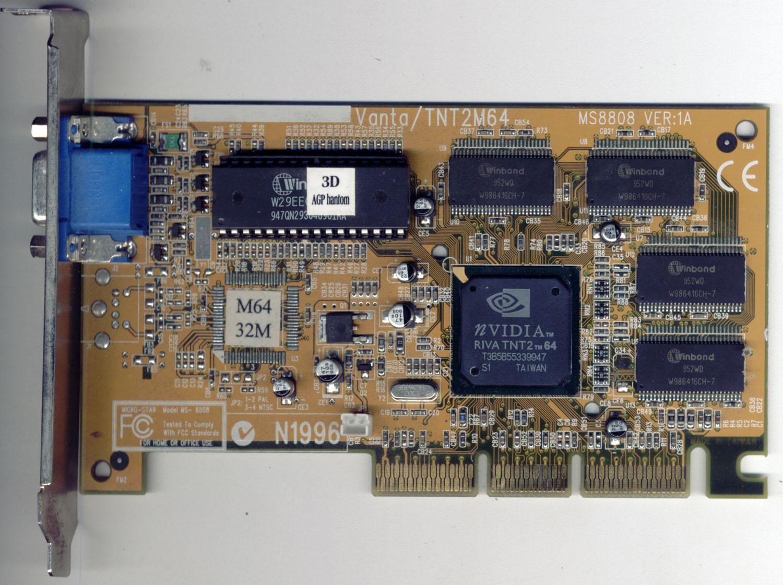 3D POWER TNT2 M64 WINDOWS 8.1 DRIVER